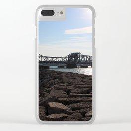 Steel Bridge Clear iPhone Case