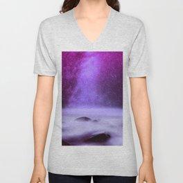 Milky Way Unisex V-Neck