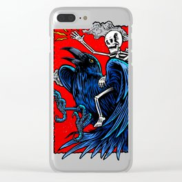 In to the crow Clear iPhone Case