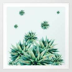 tropical stars  Art Print