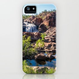 Australian Landscape at Edith Falls, Top End, Australia iPhone Case