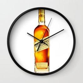 Johnny Gold Wall Clock