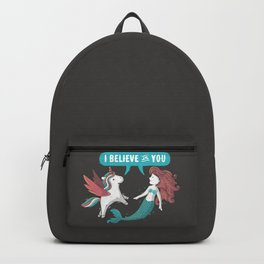 I Believe In You Backpack