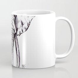 Elephant Drawing Coffee Mug