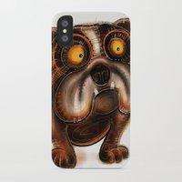 bulldog iPhone & iPod Cases featuring Bulldog by Riccardo Pertici