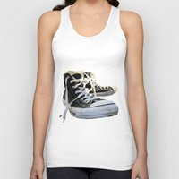 converse Tank Tops featuring Converse by Jake Fishkind