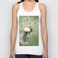 dandelion Tank Tops featuring Dandelion by Falko Follert Art-FF77
