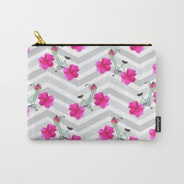 Petal Pusher Chevron Carry-All Pouch