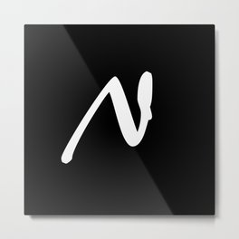 Alphabet ...N Metal Print