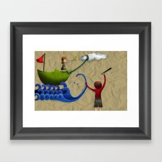 Calendario AIAG Framed Art Print