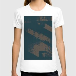Abstract_Blue T-shirt