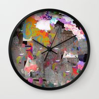 blues Wall Clocks featuring Blues by Tyler Spangler