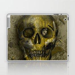 skull gold art decor Laptop & iPad Skin