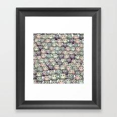 owl-58 Framed Art Print