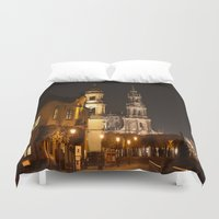baroque Duvet Covers featuring Dresden Baroque  by DuniStudioDesign
