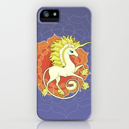 Vendel Unicorn - the sun iPhone Case