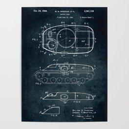 Battle tank Poster