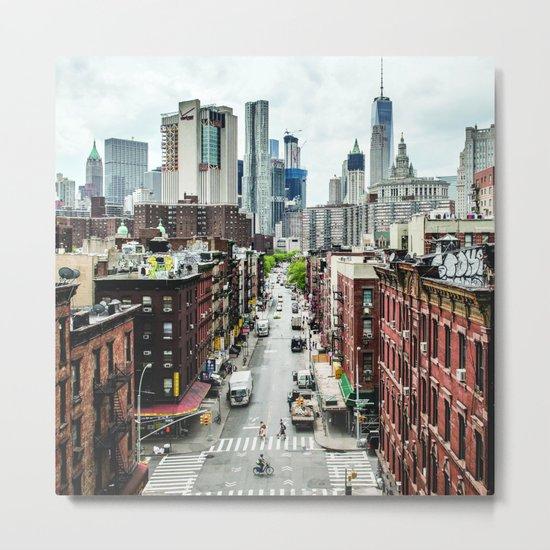 New york City USA Metal Print
