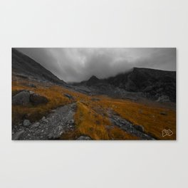 The Scottish Highlands in Autumn. Canvas Print