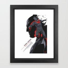 BATMANvSUPERMAN: Dawn of Justice - Movie Poster V2 Framed Art Print