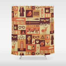 Accio Items Shower Curtain