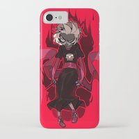 homestuck iPhone & iPod Cases featuring Grimdark Rose by Pris