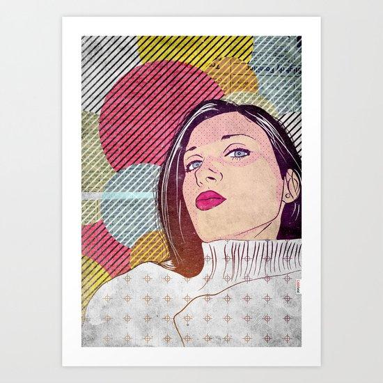 Nantin Art Print