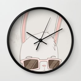빠숑토끼 fashiong tokki Wall Clock