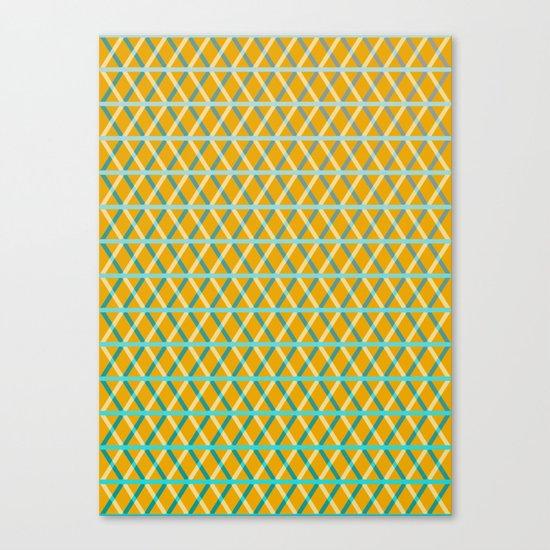 Overlap #6 Canvas Print