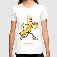 banana T-shirts featuring Banana by Alby Letoy