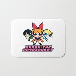 Smash The Patriarchy - Powerpuff Girls Bath Mat