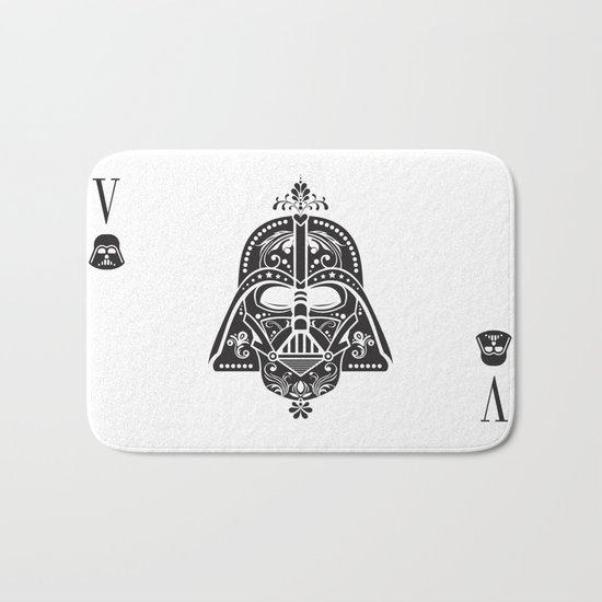 Darth Vader Card Bath Mat