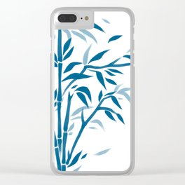 Zen garden Clear iPhone Case