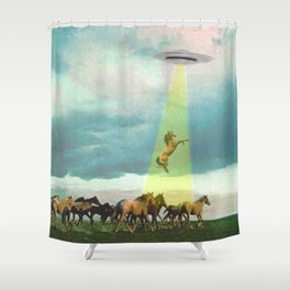 They too love horses Shower Curtain