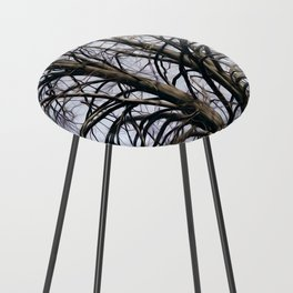 Stained Glass Tree Counter Stool