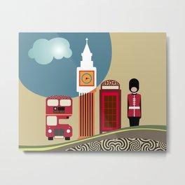 London England Metal Print