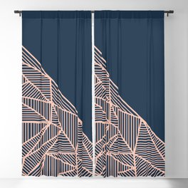 B Rays Geo 1 Blackout Curtain