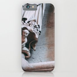 Amiens Cathedral sculpture iPhone Case