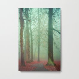 Autumn Wanderlust Metal Print