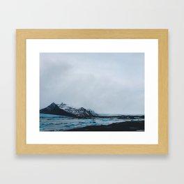 Coast Collective - Iceland Series Glacier Framed Art Print