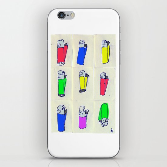 Nine Crap clippers. iPhone & iPod Skin