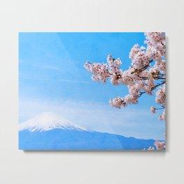 Japan watercolor #1 Metal Print