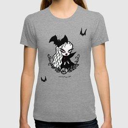 Lady Vamp - for lighter color T-shirt