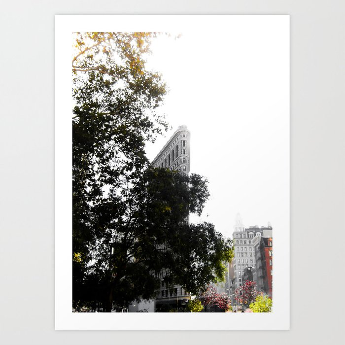Flatiron Autumn Art Print