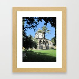 Church of Beatitudes Framed Art Print