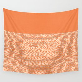Riverside - Celosia Orange Wall Tapestry
