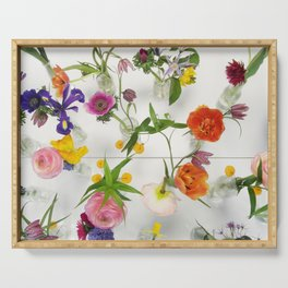 Spring Flowers - JUSTART (c) Serving Tray