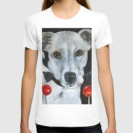 White Dogs and Tootsie Pops T-shirt