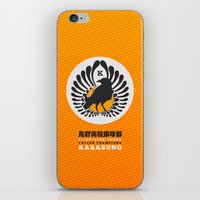 volleyball iPhone & iPod Skins featuring Karasuno High Volleyball Club by robin