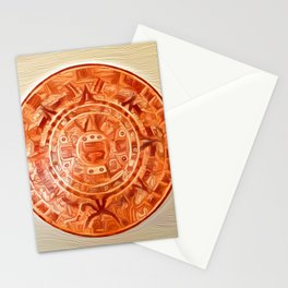 Montezuma's Calendar Stationery Cards